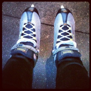 Getting my skates on